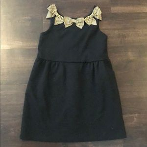Janie and Jack Dress with bows  Girls Size 4